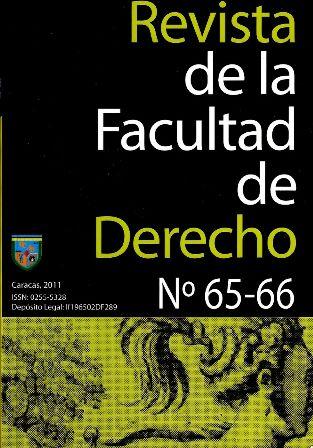 REVISTA DE LA FACULTAD DE DERECHO 65-66